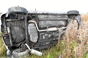 Tre på skadestuen efter uheld på E39