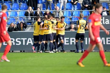 Hobro udspillede FC Nordsjælland