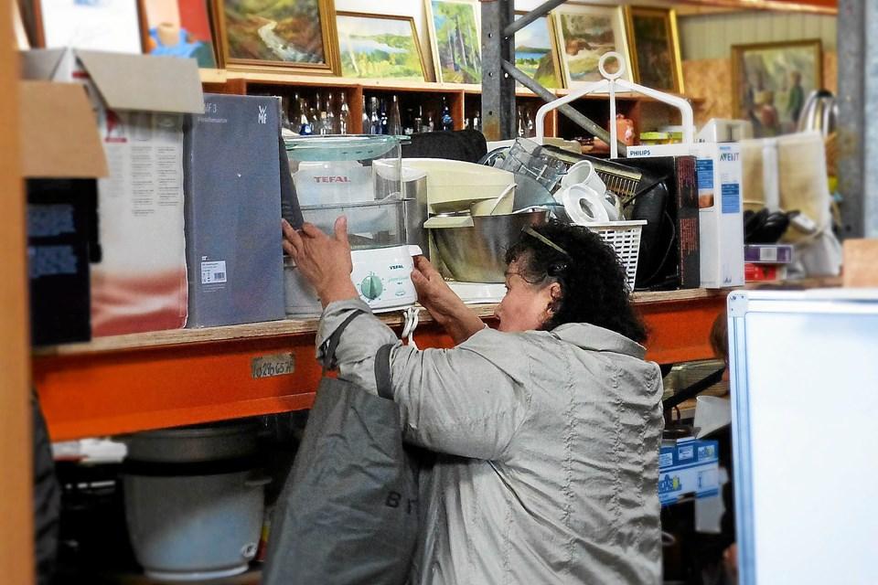 Stort Rykind Til Als Spejdernes Loppemarked Galleri