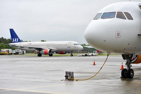 SAS-fly evakueret efter røg i kabine