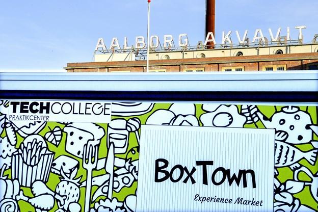 Opbygningen af BoxTown begynder de kommende dage.
