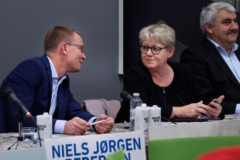 Anders Sønderup og Peter Mørk (foto)