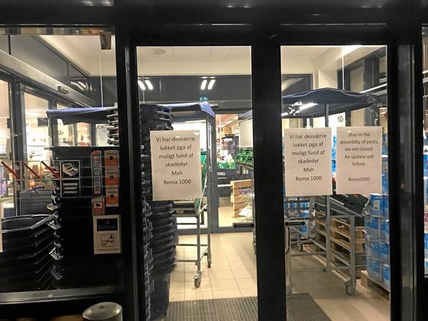 Rema 1000-butik lukket på grund af skadedyr