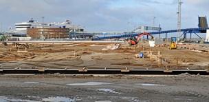 Ny lakse-terminal klar til drift om et år