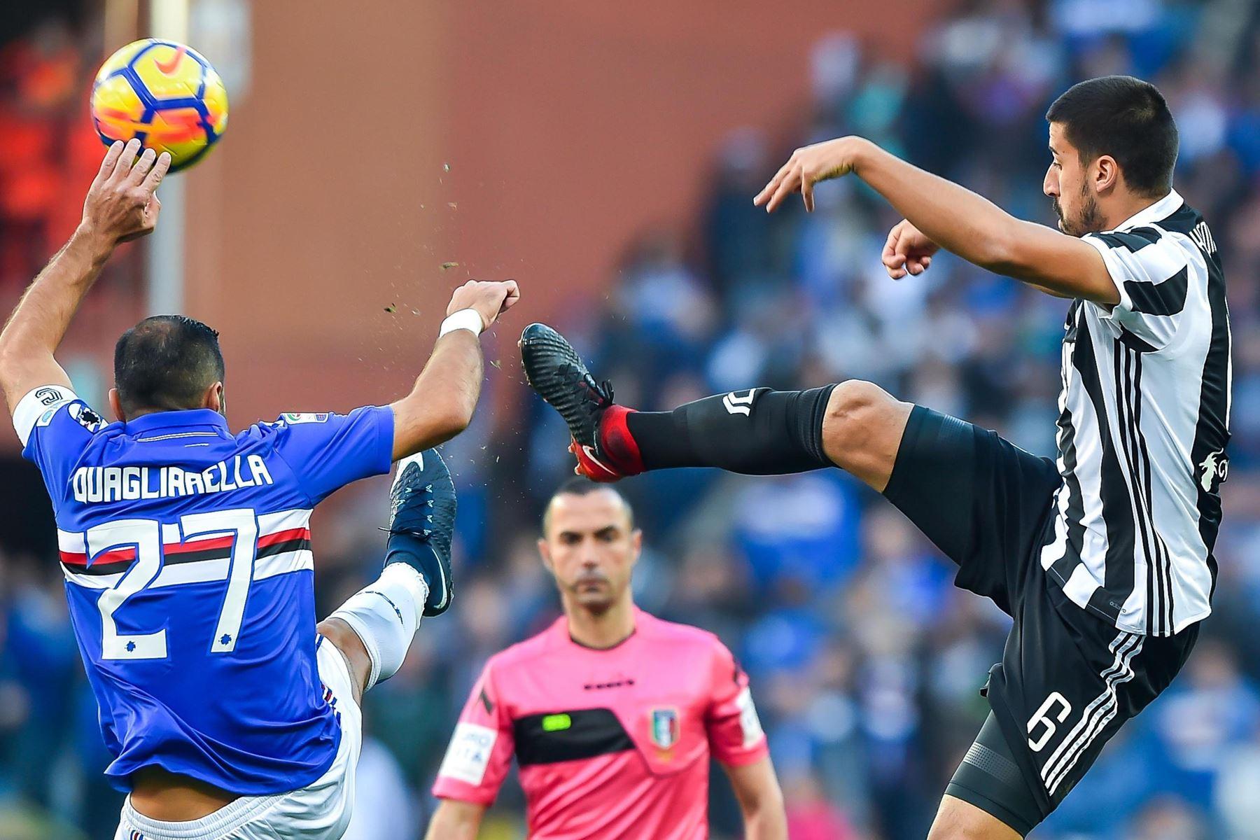 Juventus tabte søndag 2-3 til Sampdoria, og mestrene har nu fire point op til førerholdet Napoli.