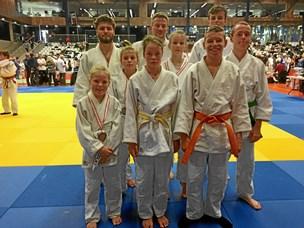 Medaljer til judokaer