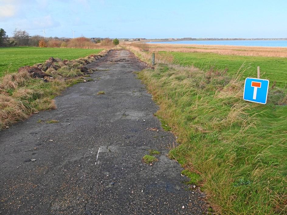 Spøgelsesvej fjernes fra landkortet