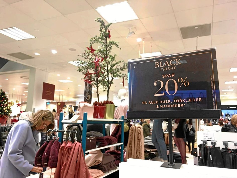 Startskuddet til julegave-shopping
