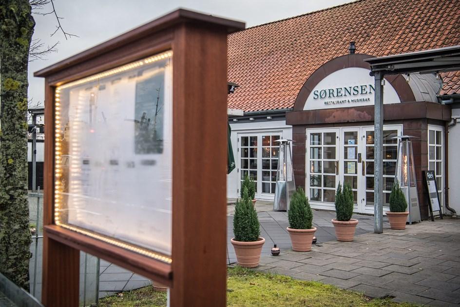 Sørensen's fyrer restaurantchef