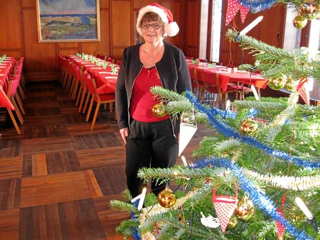 Jette Østergaard har i år haft rollen som koordinator for Julehjælpen.dk i Aalborg. Foto: Ole Skouboe