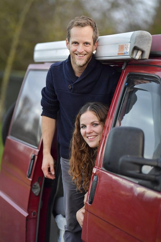 Både Morten Grau Jensen og Mette Fuglsang fremhæver friheden, når man spørger dem, hvad de glæder sig til i det liv, der venter dem på vejene.