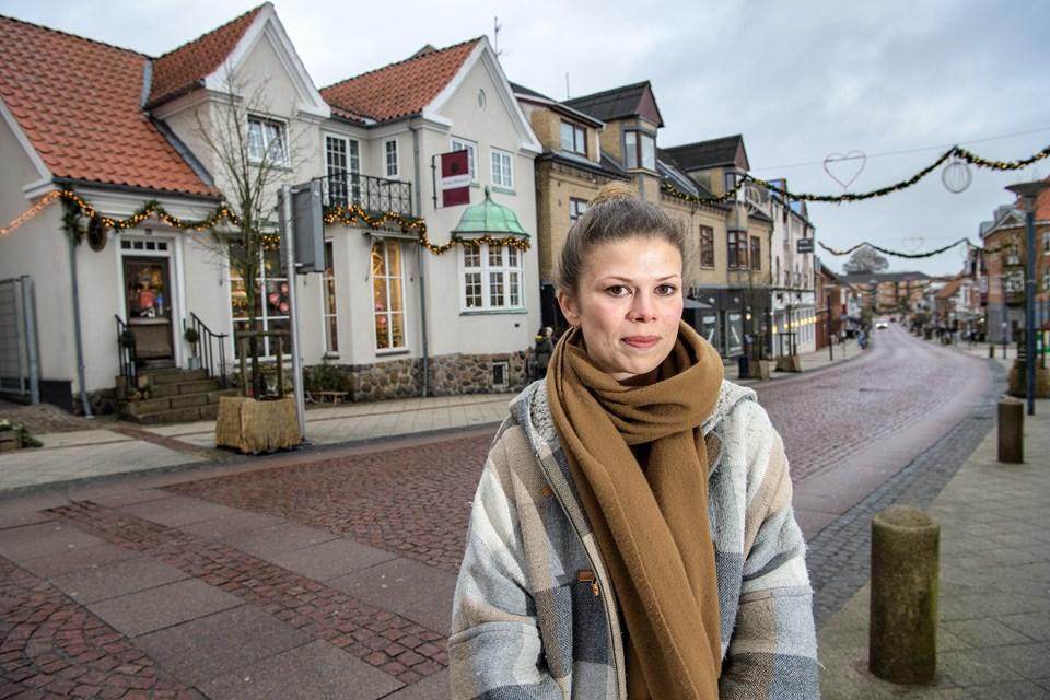 Line Lykkegaard Skouog Peter Broen (foto)