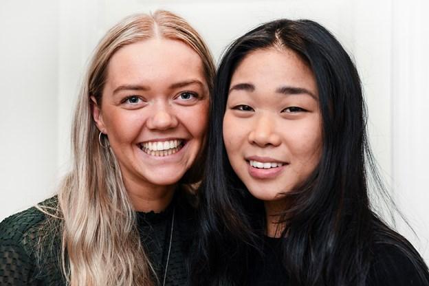 Til dalig går pigerne på Aalborg Universitet, arbejder og spiller håndbold. Alligevel kan de finde tid til at drive madbloggen.