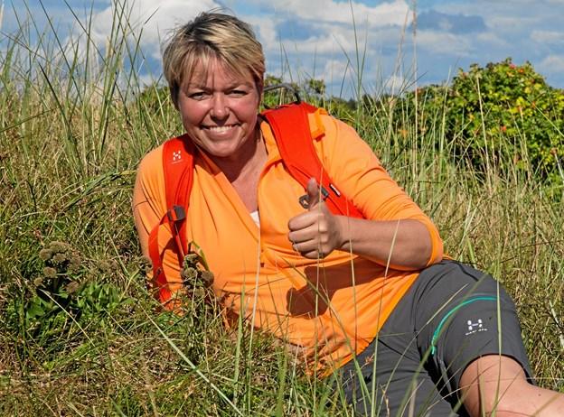 Campingdronningen Anne-Vibeke Isaksen kommer til messen. Privatfoto