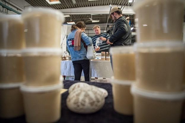 Fødevaremarkedet langer snart lækkerier over disken igen. Arkivfoto: Martin Damgård.