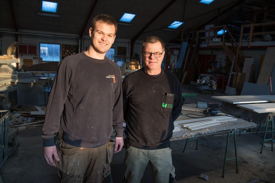 Andrea Jessen Jakobsen og Bo Lehm (foto)