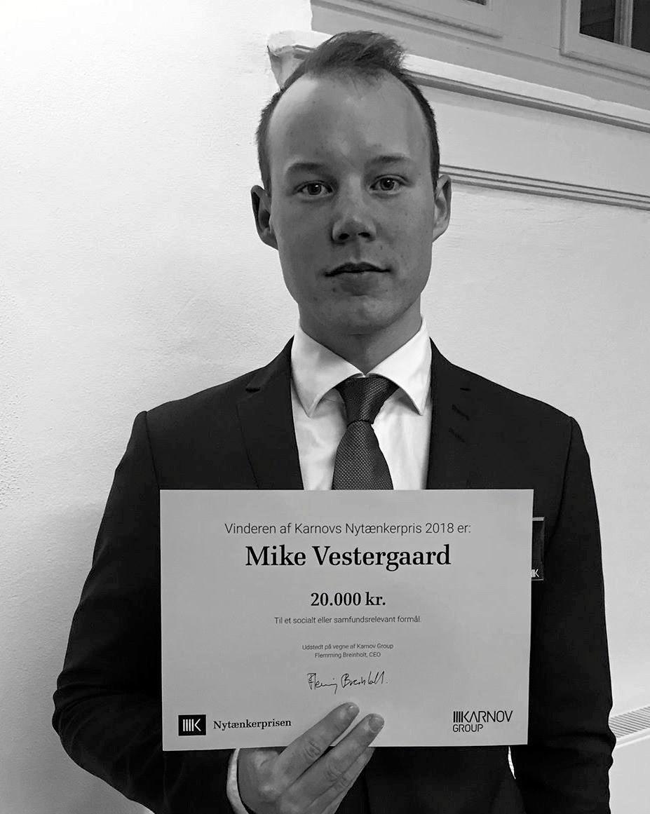 Sensation: Mike vinder prestigepris