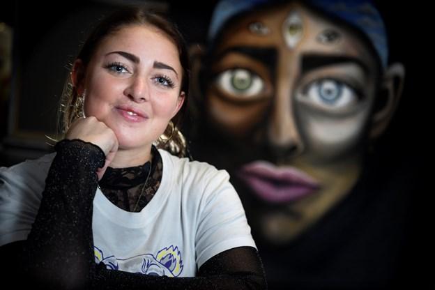 Frida Stiil Vium oplever, at Aalborg er god til at støtte kulturelle projekter.