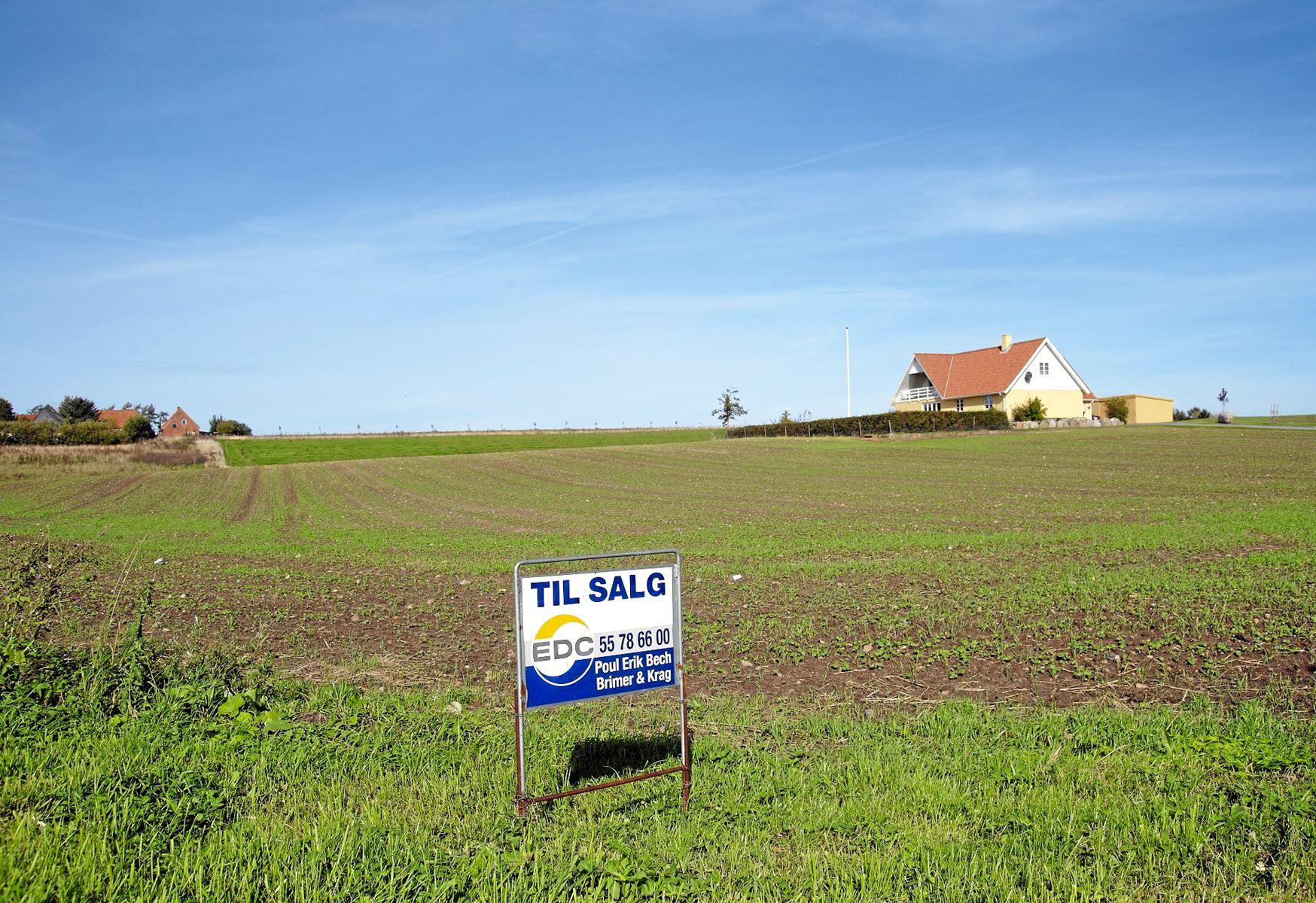 Sidste år blev der solgt 17,4 procent flere boliger i landets såkaldte udkantskommuner