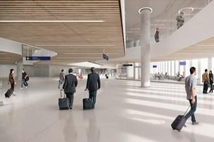 Lufthavn bliver større end planlagt