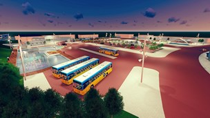 Mange forslag til en ny banegårdsplads