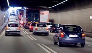 Byggeaffald på motorvejen