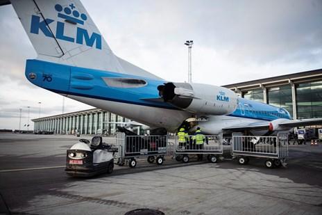 Storm lukkede lufthavn - fly til Aalborg blev aflyst
