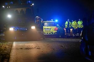 Bilist kørte galt - og forsvandt