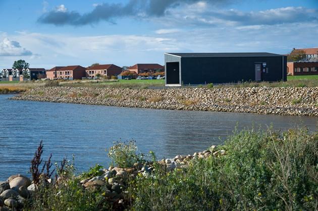 Søsportscenter bliver en ø