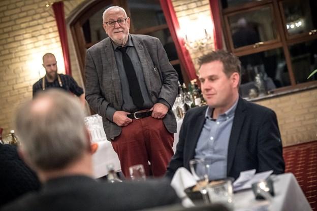 Bent Christensen vil ikke udtale sig yderligere om restauranternes afbud.  Foto: Martin Damgård