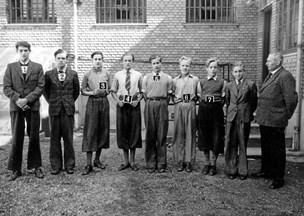 Pæne skoledrenge fra Aalborg blev krigshelte