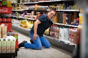 Konkurs afværget - købmand bliver