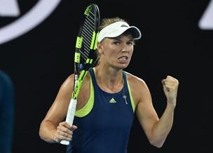 Wozniacki efter sejr: Mine returneringer frustrerede hende