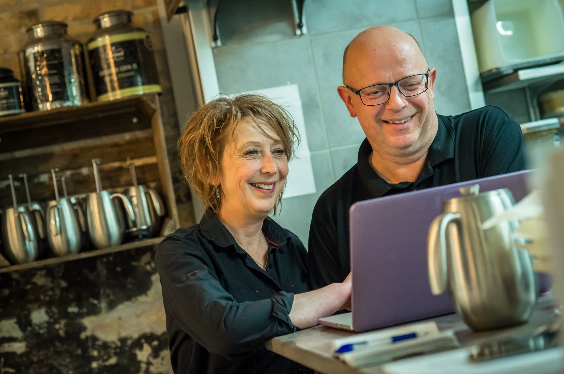 Café Landmad bli'r til Café Bonden