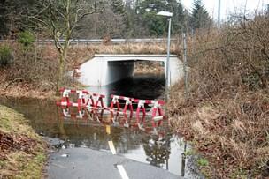 Tunnel tømmes for vand