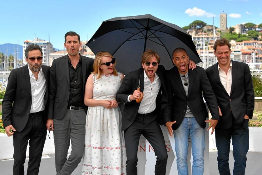 """Den svenske film """"The Square"""" kan få en Oscar i kategorien bedste ikke-engelsksprogede film."""