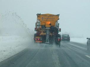 Vejdirektoratet holder vejene hvide
