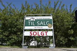 Der blev handlet ti procent flere huse på landsplan i 2017. Kun i 13 kommuner var handelsaktiviteten lavere.
