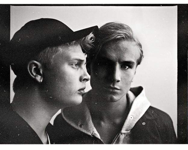 De to drenge i Citybois glæder sig til at indtage scenen på Skråen den 9. februar. PR foto