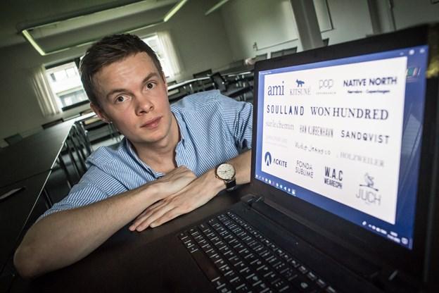Theis Hollænder forhandler i øjeblikket med flere high-end brands.