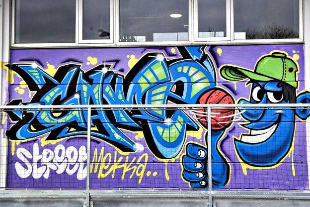 Street art er en del af GAME Streetmekka Aalborg.