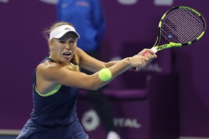 Wozniacki slog Kerber i forrygende dyst