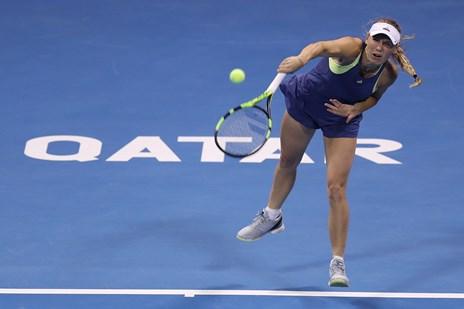 Wozniacki smed finalepladsen