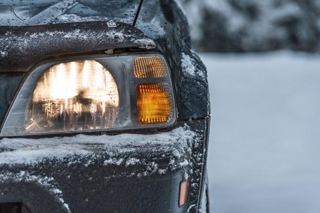 Hold bilen frostfri i vinterkulden