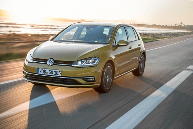 VW Golf sælger bedst i Europa