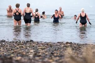 Vinterbadere håber på at få penge til sauna