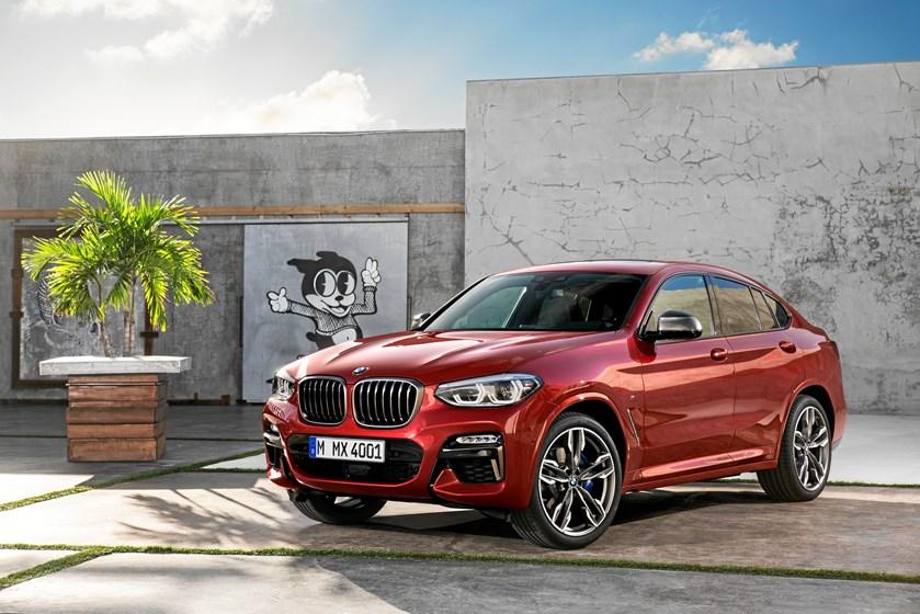 BMW klar til at præsentere anden generation af SUV-modellen X4 på den internationale udstilling i Geneve