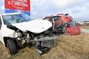 Tre tilskadekomne i trafikuheld