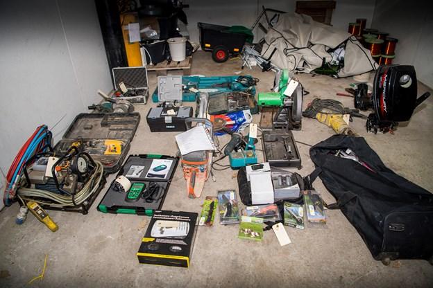 Fandt tyvekoster i kommunal garage