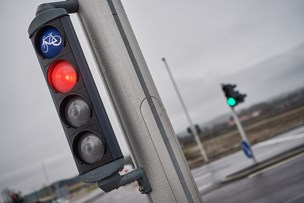 Uheld: Kørte over for rødt lys